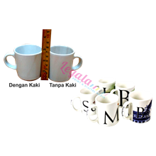 Mug Coating Souvenir Mini LEGALA