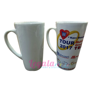 MUG V-SHAPE WHITE 16 OZ LEGALA