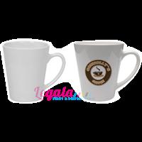 Distributor Mug Souvenir V-SHAPE WHITE 11 OZ LEGALA