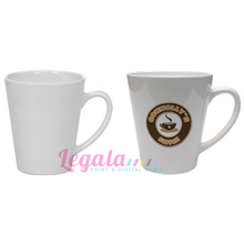 MUG V-SHAPE WHITE 11 OZ LEGALA