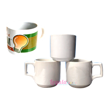 Mug Coating White Jazz Junior LEGALA