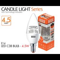 HOLZ LED E14 C38 BULB Transparant 1