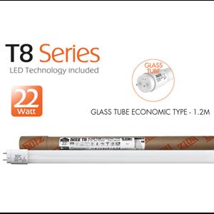 GLASS TUBE ECONOMIC TYPE - 1.2M - 22W