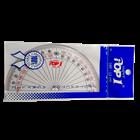 Penggaris Busur 12Cm Acrylic 2