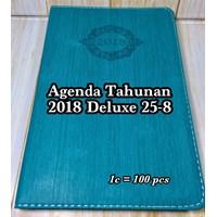 Buku Catatan/ Agenda Tahunan 2018 Deluxe 25-8