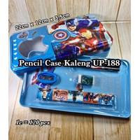 Tempat Pensil Kaleng Up-188 Captain America & Iron Man