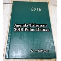 Buku Catatan / Agenda Tahunan 2018 Polos Deluxe