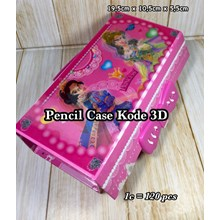 Tempat Pensil 3D Princess Series