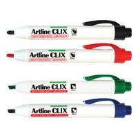 Spidol dan Highlighter Artline Whiteboard marker Clix EK-573A
