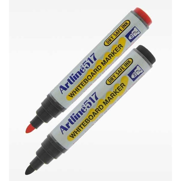 Spidol dan Highlighter Artline Whiteboard Dry Safe Ink EK-517