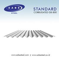 Atap Galvalum / Seng Gelombang Bulat Standard