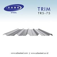 Atap Galvalum / Seng Trim Diamond TR5-75