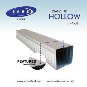 Besi Hollow Galvalum 4x4