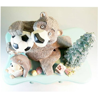 Jual Patung Bear Family On The Drawer