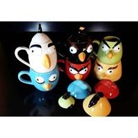 Jual mug keramik angry bird