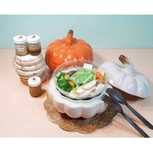 mangkuk labu stoneware