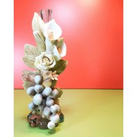Jual place candle light flower 2