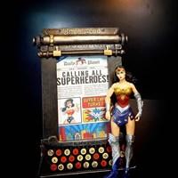 Souvenir  frame super hero 1