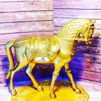 gift horse gold 1
