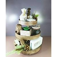 Distributor Souvenir tray kayu rotan 3