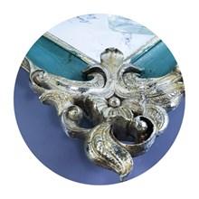 Tatakan Keramik dan Lilin Aromatherapy Souvenir