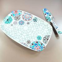 Piring Keramik Mozaik