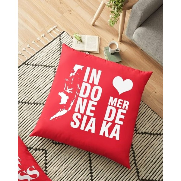 Bantal Custom Kemerdekaan