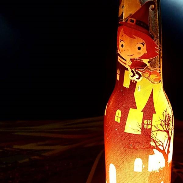 Souvenir Lampu Botol
