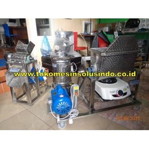 Paket Mesin Abon Mini (Mesin Pengolah Daging & Unggas)