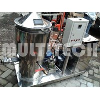 Evaporator Vakum Kapasitas 80 Sampai 100 Liter Per Proses