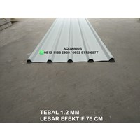 ATAP UPVC ECOROOF SINGLE LAYER