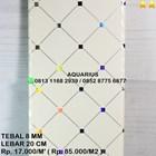 PLAFON PVC NUSAHOME WHITE BASED 15 1