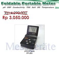 Portable pH DO Conductivity