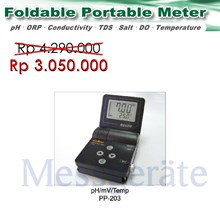 Portable pH Meter model PP 203