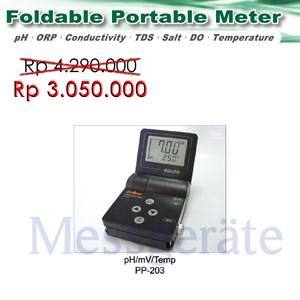 Portable pH Meter model PP 203