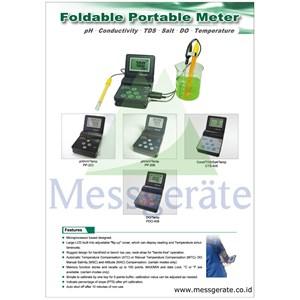From Portable pH DO Conductivity 0