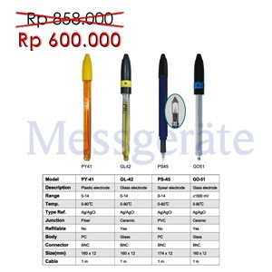 pH Electroda