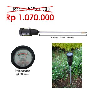 Dari Analog Soil pH & Moisture Tester 295 0