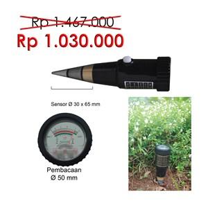 Analog Soil pH & Moisture Tester BZD 65