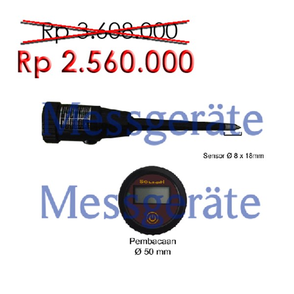 Digital Fruit and Meat pH Tester 18