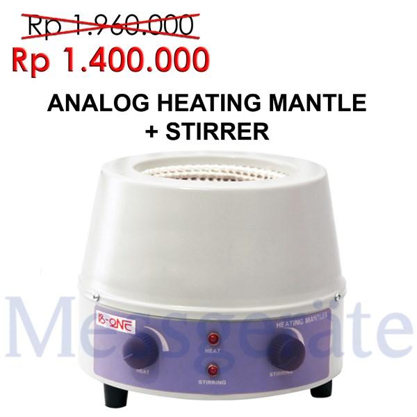 Analog Heating Mantle + Stirrer Series