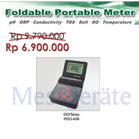 Foldable Portable Dissolve Oxygen DO Meter model PDO 408