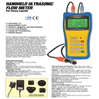 Portable Ultrasonic Flow Meter 1