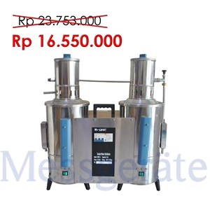 Double Water Distillation Aquabides