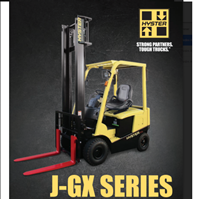 Electric Forklift Counterbalanced J-GX Series
