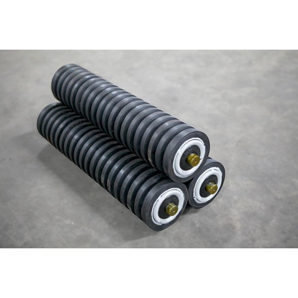 Impact Roller conveyor belt