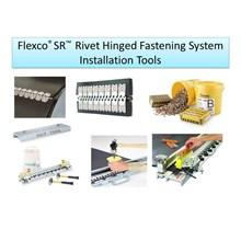 Flexco SR  Rivet Hinged Fastening System Installation Tools