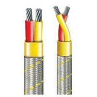 PTFE - STEEL BRAIDING INSULATED - 260°C