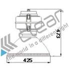 Lampu Industri Highbay Induksi- TZ-GK4 80 Watt 2