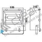 Lampu Sorot  luminaire Induksi TZ-SD2 120 W  2